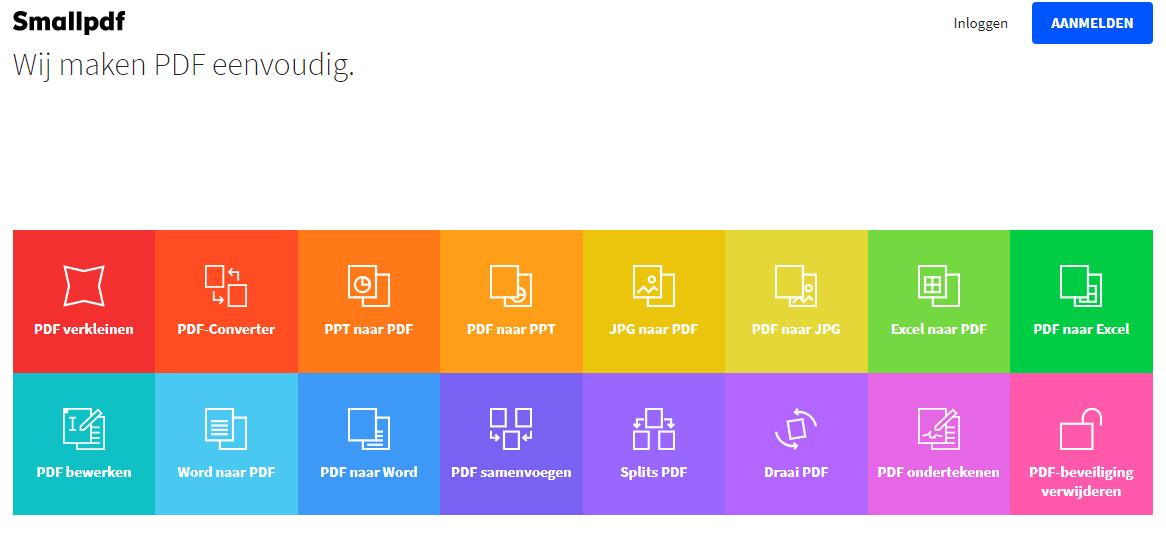 Online pdf tool